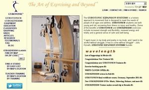 ジャイロトニック本部のホームページ